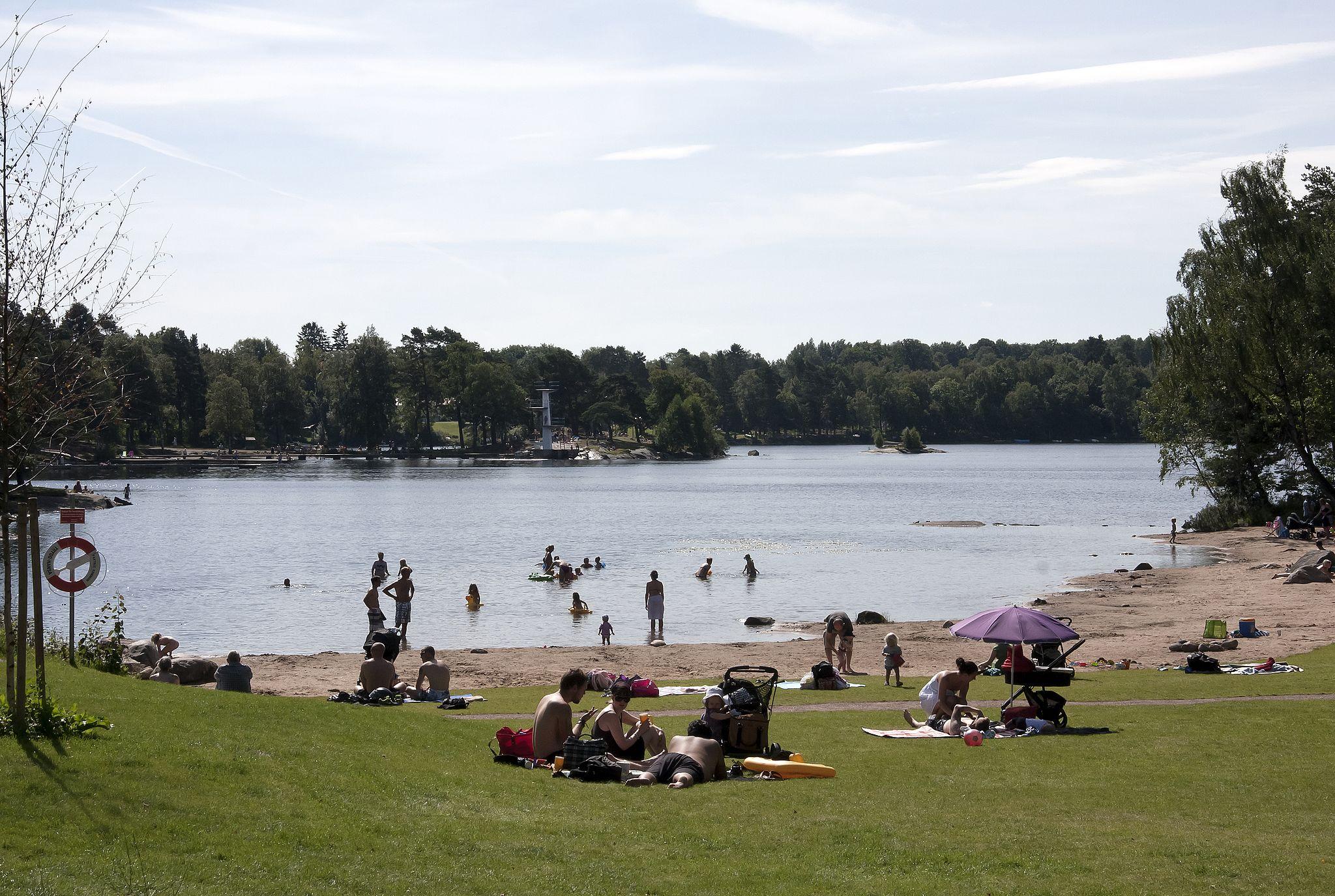Kåsjön i Partille. Foto: David Castor via Wikimedia
