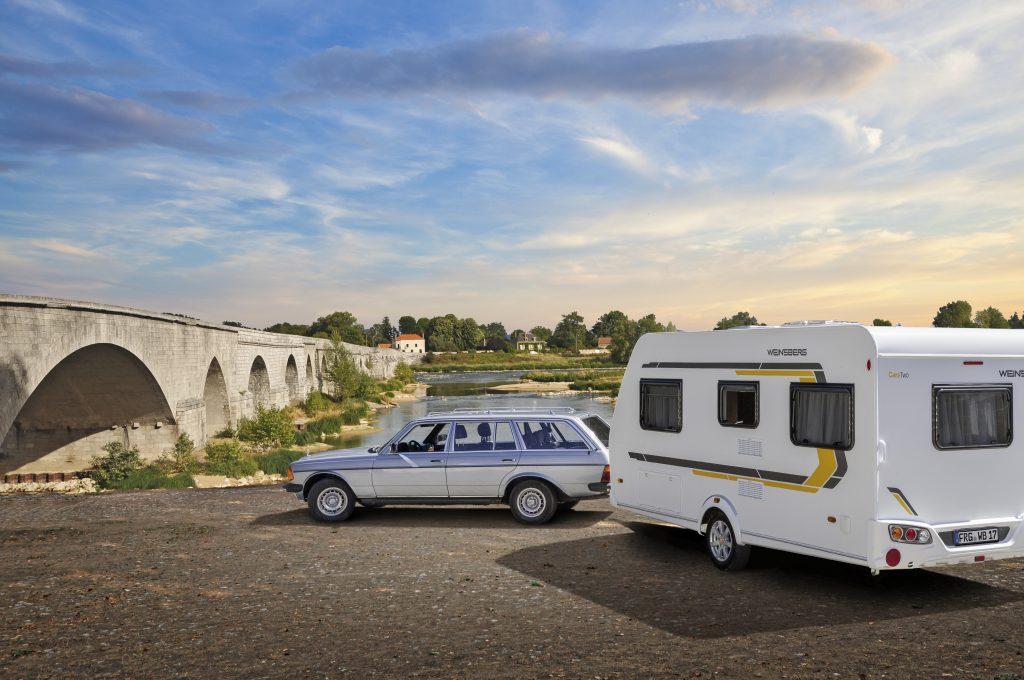 … och husvagnen som visas upp är Weinsberg CaraTwo.