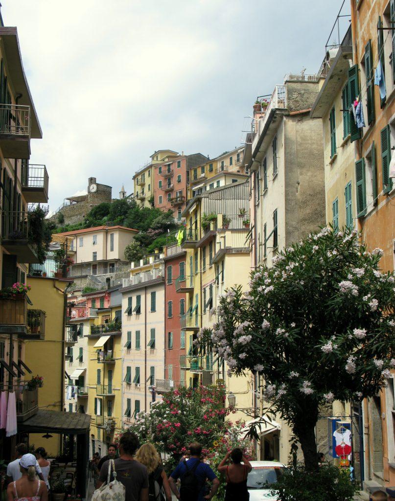Riomaggiore. Foto: http://www.arlyhelena.se