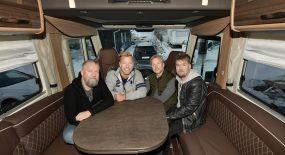 Arvingarnas turnéår i husbil