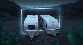 Eldrivna husvagnar och platsbesparande design bland Knaus Tabberts nyheter